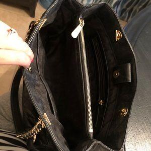 99baece3730b Michael Kors Bags - Michael Kors VGUC Susannah Black Leather Tote Bag